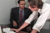 Horny Older Gay Guy Fucked by Tech