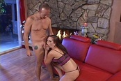 A Horny Housewife Takes A Deep Dicking