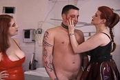 Busty Sluts Misty Rain And Julia Parton Humiliate Stud