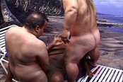 Black Babe Tag Teamed by Two Midgets