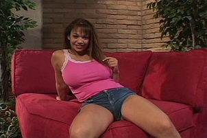 Dark haired Latina plumper Daylene Rio having sex with large dick  1574959