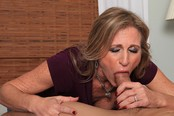 Cougar Jade Jamison Loves Her Warm Cum Facial