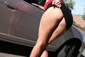 Blond Escort Zoe Holiday Gives Crazy Road Head!