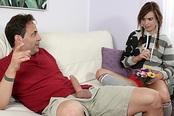 Naughty Teen Kaylee Haze Loves Fucking Her Step-Dad