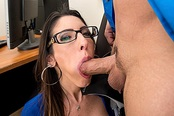 Office Hottie Dava Foxx Blows Her Boss to Keep Her Job!