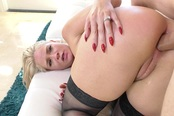 Hot Blonde Babe Gets Off On Being Fucked In Her Ass