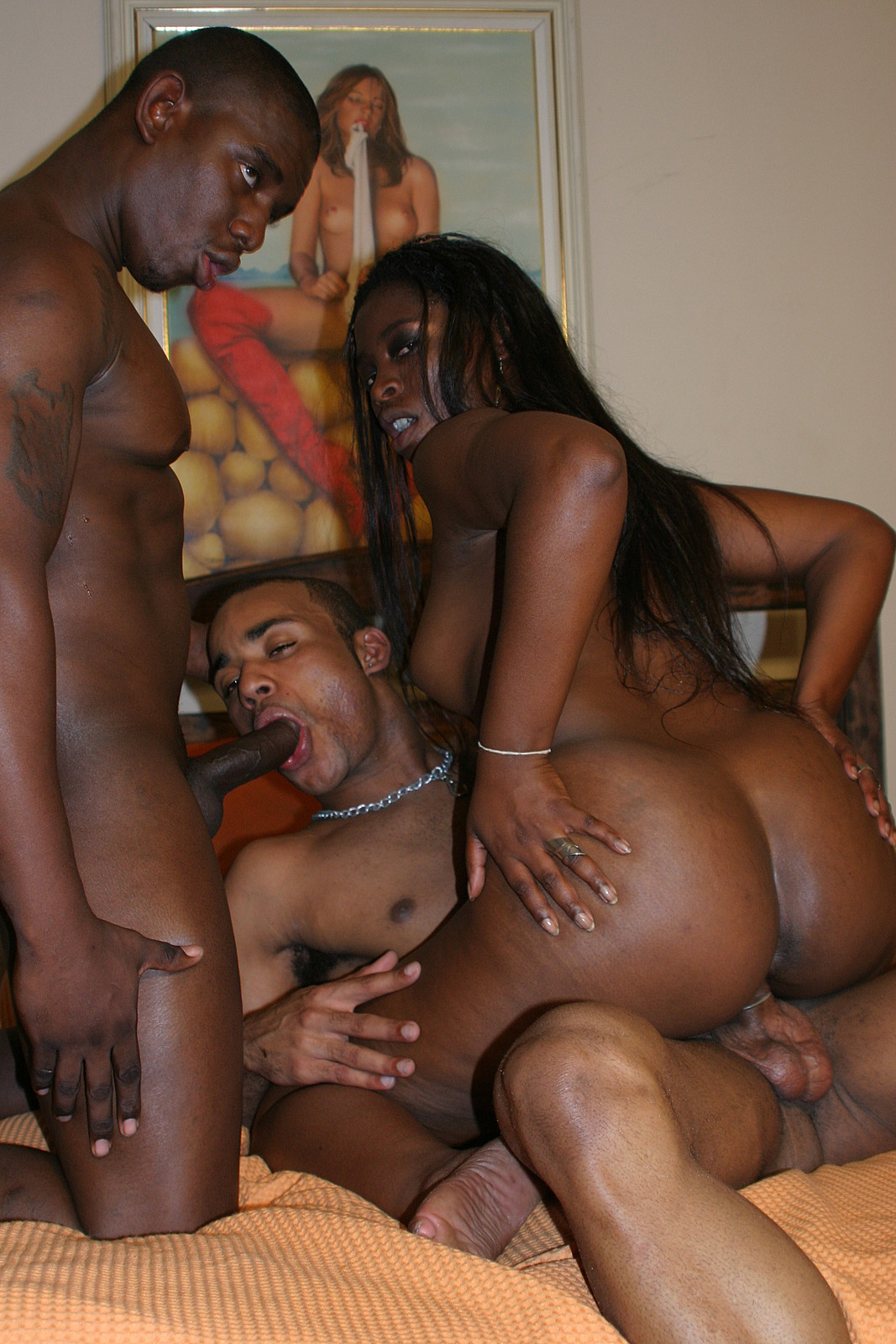 black bi couple