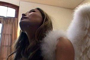 Asian Angel in Bizarre Sex Scene