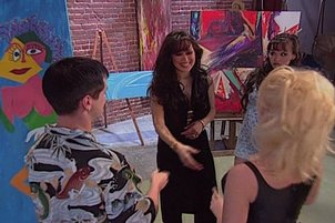 Couple Fucking At An Art Show Gal Sees