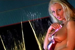 Barbie Doll Blond Fucked In Fire Light