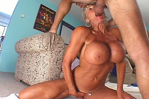 Older Woman With Huge Tits Gets Fucked