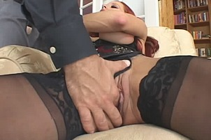 Cute Red Head Honey Shannon Kelly Pleasing His Hard Cock