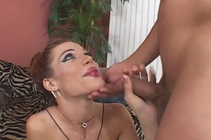 Two Guys Fuck Melissa West's Hot Rocking Body