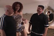 Redhead Wife Kitty Nailed While Her Chump Husband Watches