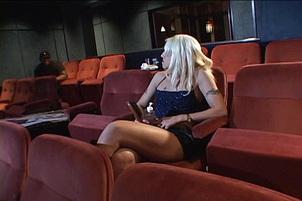 Hardcore Interracial In Movie Theatre