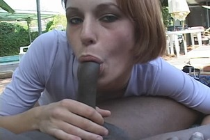 Lt Gives His Black Dick To Small Tittied Cherie