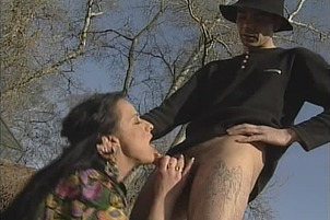 Monica Gets Fucked In The Outdoors Hard By Jake