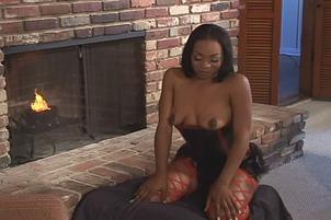 Big Ass Ebony Slut Marie Luv Anally Stuffed In Hot Fuck