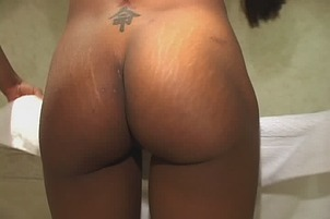 Black Bitch Shows That She Can Work A Cock Like A Pro