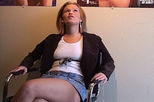 Hot Horny Secretary Makes Her Money with Her Mouth