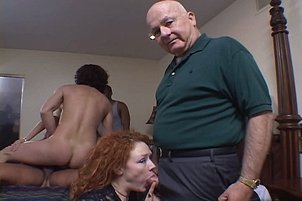 5 Hot Bitches Fuck While Husbands Watch