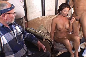 Sexy Milf Vanessa Gets Fucked In Front Of Her Man