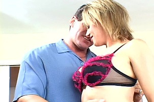 Blond Banker Banks Cum In Her Mouth