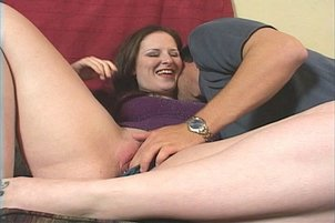 A plump girl gets some much needed dick in her diet.