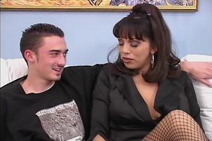 Exotic Angela D Angelo Sucks Cock Like A Pro
