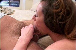 Kaylynn Sucks Cock In Tight Red Pants