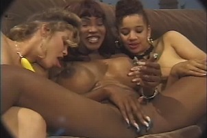 More Lesbian And Ebony Interracial Sexy Time