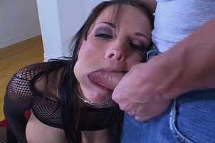 Brunette Cant Control Her Carnal Lust