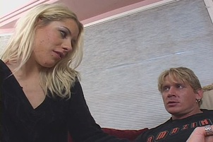 Young Blond Taught Lesson With Big Dick