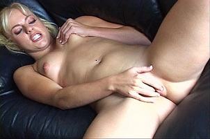 She Is Hot Blond And Horny As Hell