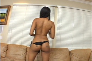 An Exotic Girl Gets Herself Off