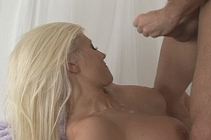 Big Tittied Blonde Getting Banged Hard