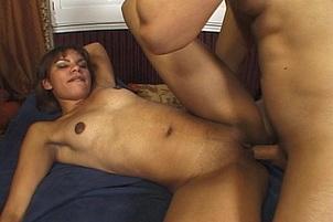 Ebony Whore Loves It Rough In Her Ass