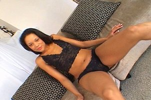 Ebony Babe Is Drilled In The Ass