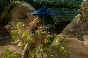 Sky Taylor Enjoying Poolside Cock