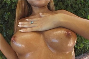Tiny Young Baby Oil Slut Stretched Open