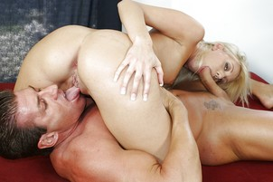 Tender Young Blond Swallows Thick Cum