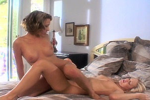 Blonde And Brunette Licking Snatches