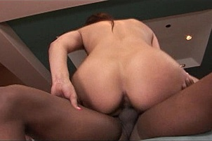 Spunky Amateur in Hot Interracial