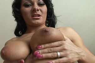 Busty Euro Whore Loves Hard Ass Reaming