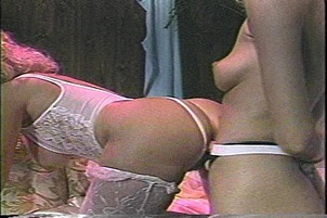 Vintage Vagina Fucked By Strap-On