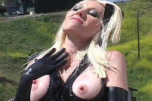 Dalny Marga's Latex Covered Tits