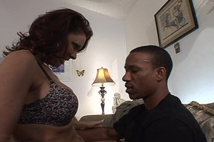 Horny Wife Tastes Her First Black Cock