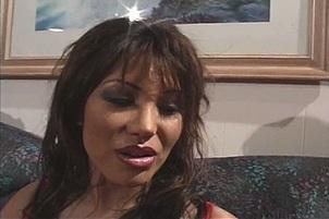 Busty Asian MILF Ava Devine DP Slammed