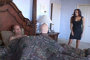 Sexy Brunette M.I.L.F. Gets Fucked