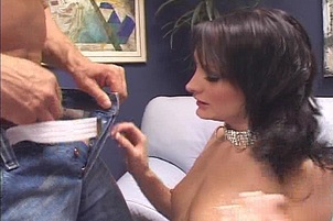 Naughty Brunette Likes To Get Spanked